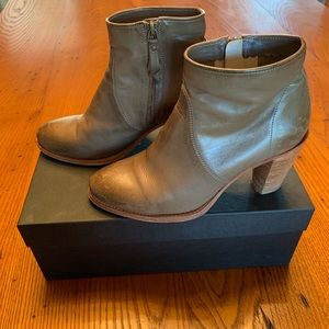 NDC Made by Hand khaki ankle boots size 39